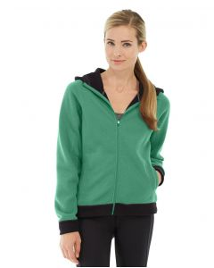 Circe Hooded Ice Fleece-XS-Green