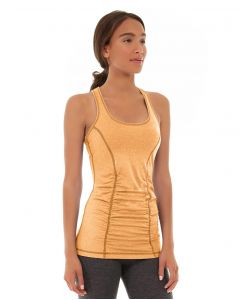 Leah Yoga Top-S-Orange